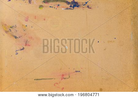 Blank or empty cork board background for placing drawing or sketching papers art textured background copy space for text insertion or design