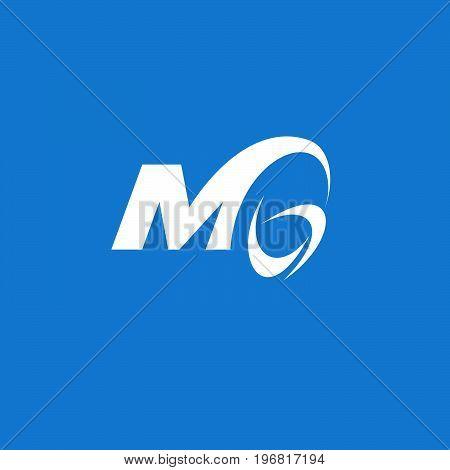 abstract mg letter logo design, mg letter logo