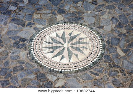 Wind Rose Mosaic