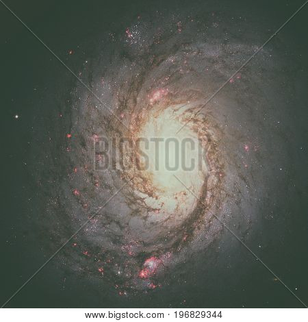 Messier 77 Is A Barred Spiral Galaxy In The Constellation Cetus