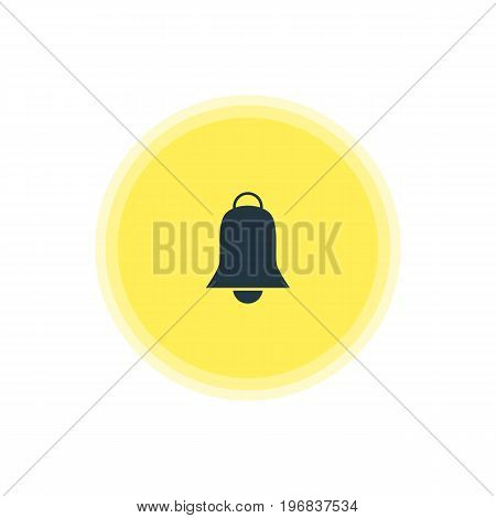 Beautiful Web Element Also Can Be Used As Notification  Element.  Vector Illustration Of Alarm Icon.