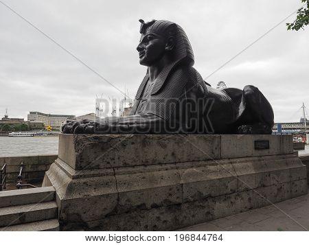 Egyptian Sphinx In London