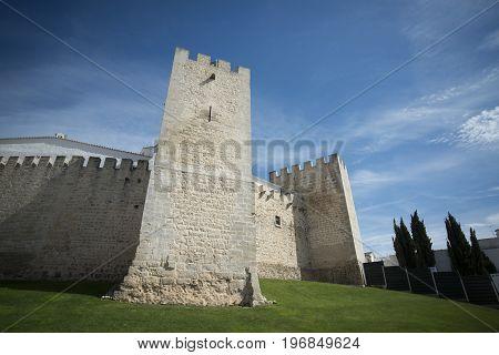 Portugal Algarve Loule Old Town Castelo