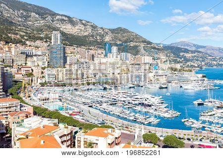 Monaco Monte Carlo harbour french riviera