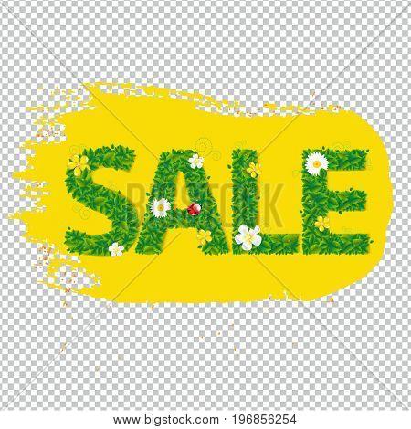 Summer Sale Banner Blots For Design