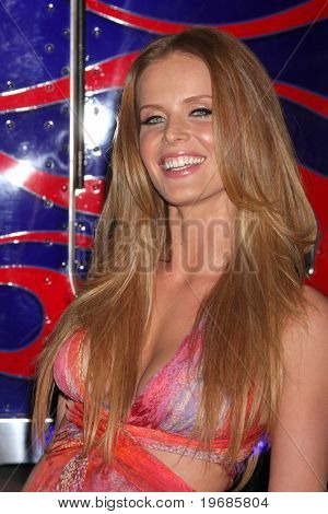 LOS ANGELES - MAY 11:  Rebecca Mader arriving at the Maxim Hot 100 Party at Eden on May 11, 2011 in Los Angeles, CA