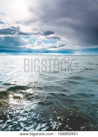 Seascape Sea Horizon And Sky.