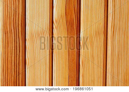 Wooden lacquered background. Brown wooden boards panel. Background with empty space for text
