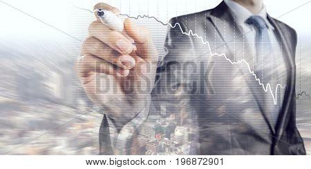 Dynamics of market growth. Mixed media