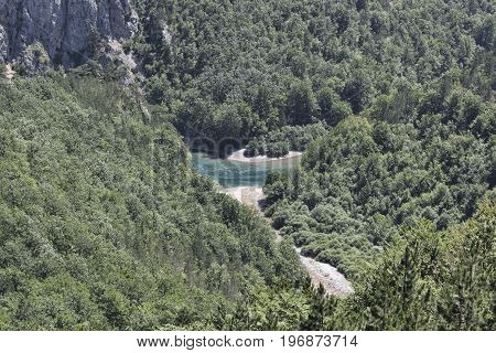 Canyon of the River Tara - the deepest canyon in Europe