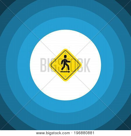 Direction Pointer Vector Element Can Be Used For Direction, Pointer, Board Design Concept.  Isolated Road Sign Flat Icon.