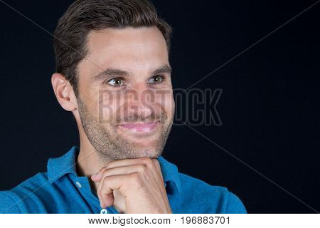 Portrait Of Handsome 30 Year Old Man