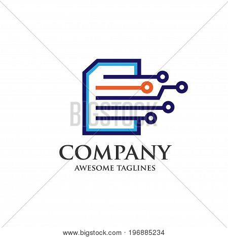 digital print, digital document, digital book,modern and simple concept of digital print, digital document, digital book