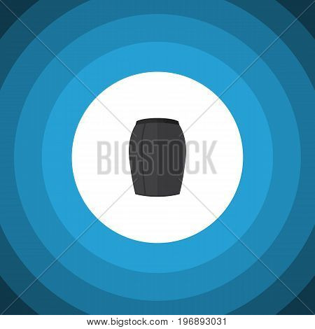 Stylish Apparel Vector Element Can Be Used For Skirt, Apparel, Woman Design Concept.  Isolated Skirt Flat Icon.