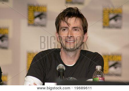 SAN DIEGO, CA - JULY 26: Actor David Tenant, star of BBC's