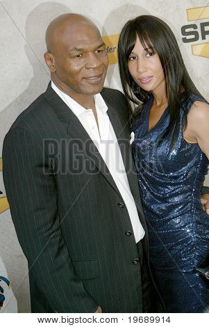 CULVER CITY, CA - JUNE 5: Mike Tyson & wife Lakhia Spicer arrive at the 4th annual Spike TV's