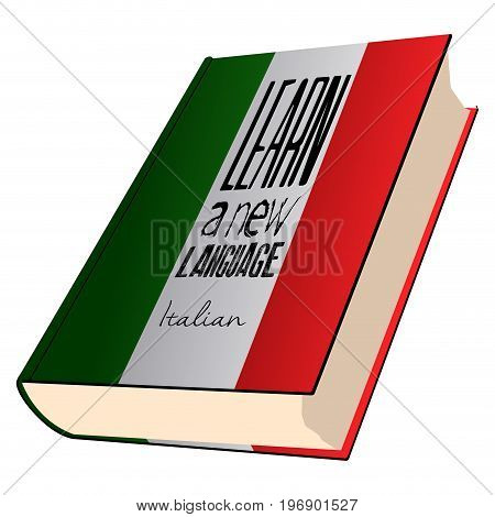 Isolated Colored Book