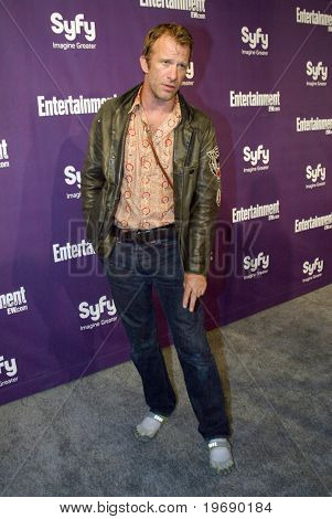SAN DIEGO, CA - JULY 24:  Thomas Jane arrives at the SyFy/EW party held July 24, 2010 at the Hotel Solamar in San Diego, CA.