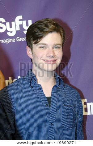 SAN DIEGO, CA - JULY 24:  Chris Colfer from
