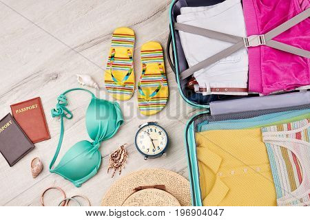 Bright accessories for rest on south. Make your journey pleasant with beautiful things.