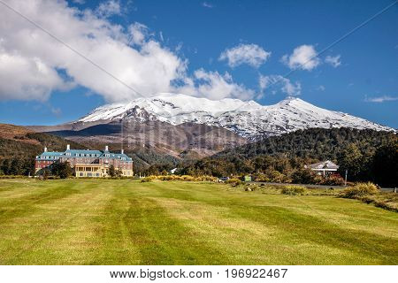 Chateau Tongariro In Tongariro National Park