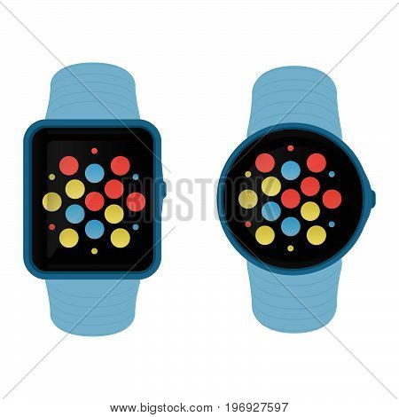Square And Round Smartwatches