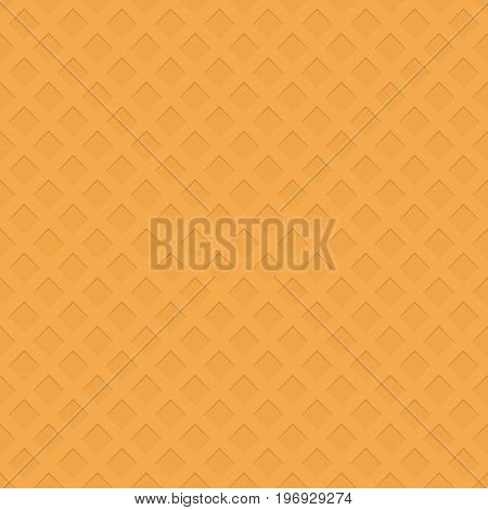Seamless perforated square pattern texture background - 3d abstract vector graphic design with shadow effect