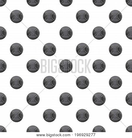 Cover on lens camera pattern seamless repeat in cartoon style vector illustration