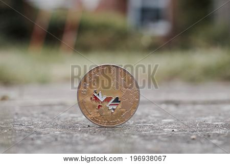 Gold Brexit Coin