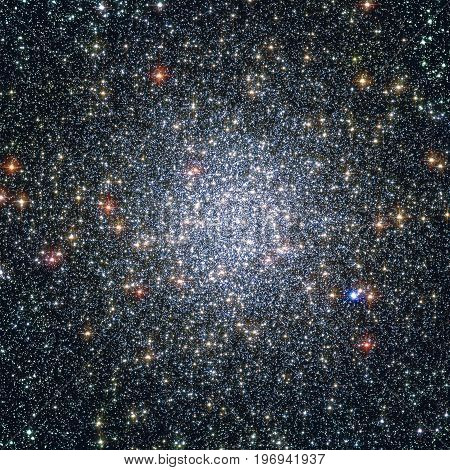 Globular Cluster 47 Tucanae,  Ngc 104  In The Constellation Tucana.elements Of This Image Are Furnis