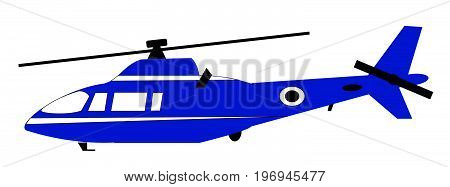 blue helicopter flying travel jet aviation chopper