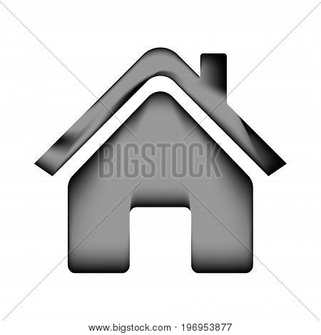 Home icon sign on white background. Vector illustration.