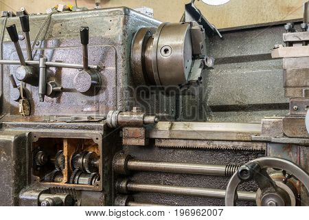 Old milling machine, cutting equipment , classic