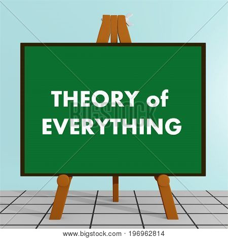 Theory Of Everything Concept