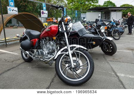 BERLIN - MAY 10 2015: Motorbike Yamaha XV 750 Special. 28th Berlin-Brandenburg Oldtimer Day