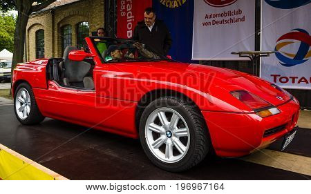 kuva berlin may 10 2015 roadster bmw z1 28th bigstock. Black Bedroom Furniture Sets. Home Design Ideas