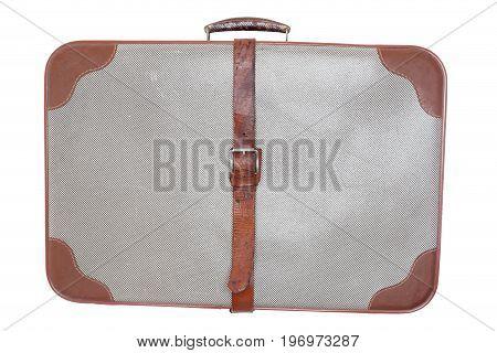 old used case isolated on white background