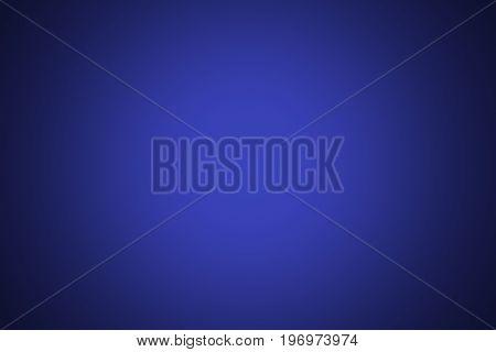 Blue color for background usage with vignetting of dark or black blur border gradient.
