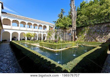 Alhambra Of Granada, Andalusia, Spain