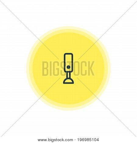 Beautiful Cooking Element Also Can Be Used As Mixer Element.  Vector Illustration Of Blender Icon.