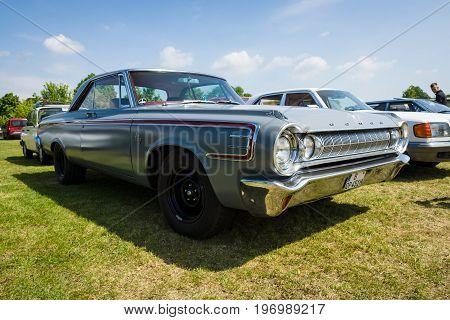 PAAREN IM GLIEN GERMANY - MAY 23 2015: Full-size car Dodge Polara 1964. The oldtimer show in MAFZ.