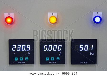 Voltage Measurement Control Box Watts Frequency in factory