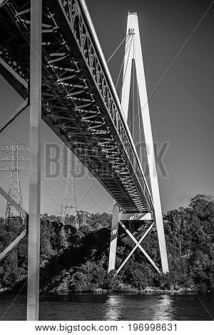 Batman Bridge By The Tamar River Near Sidmouth.