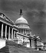 The United States Capitol building in Washington D.C. poster