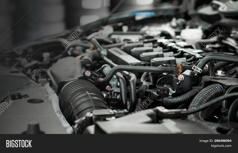 Car Engine Service Image Photo Free Trial Bigstock