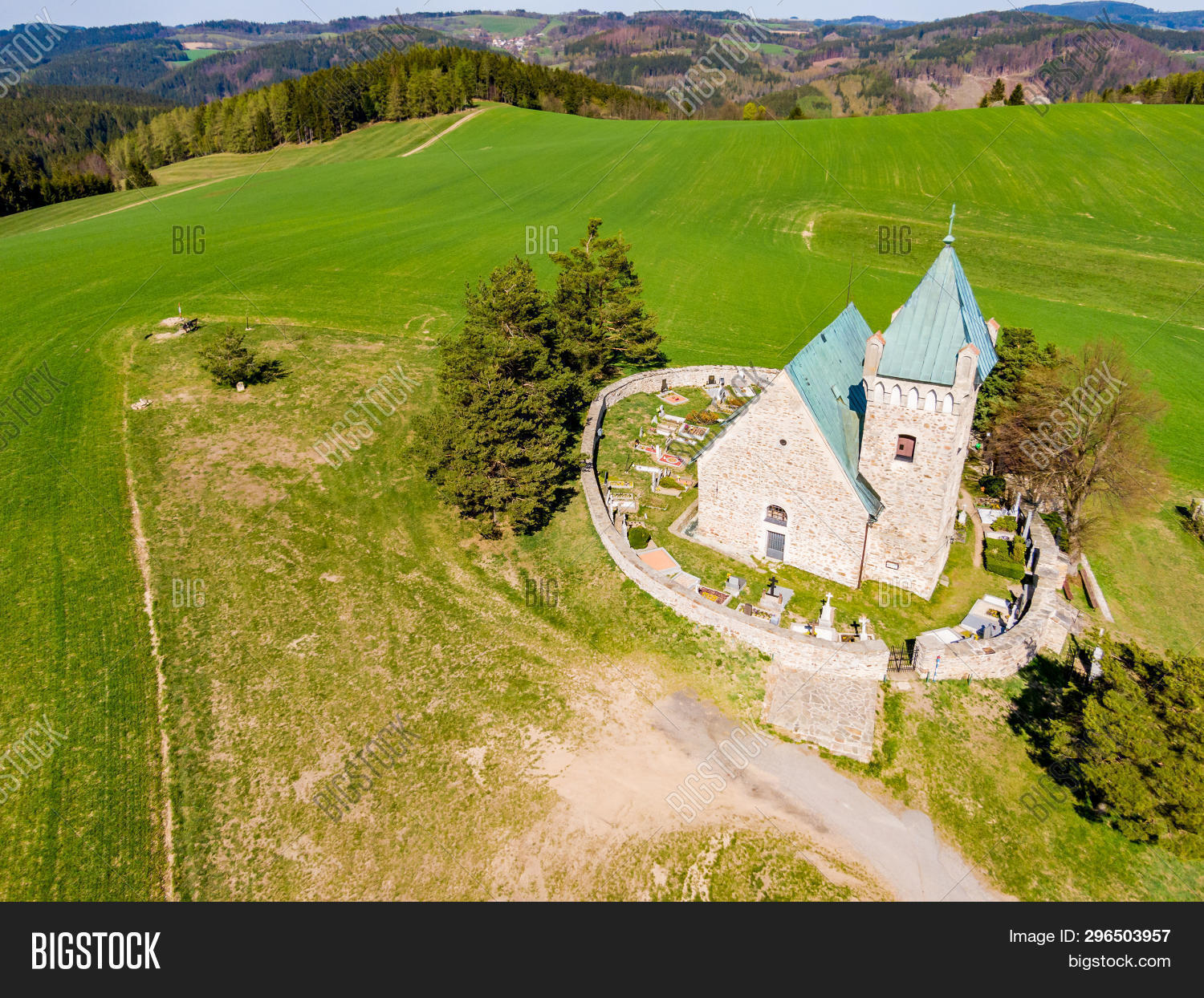 Aerial View St Michael Image & Photo (Free Trial) | Bigstock