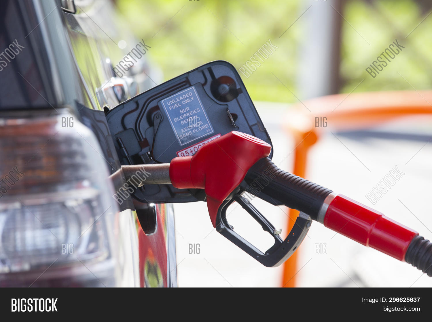 Navigate To The Closest Gas Station >> Fill Car Fuel Car Image Photo Free Trial Bigstock