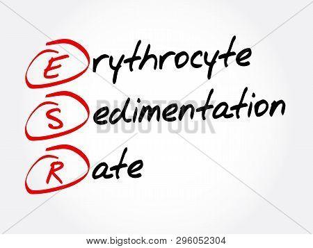 Esr - Erythrocyte Sedimentation Rate Acronym, Concept Background