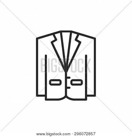 Suit Icon Isolated On White Background. Suit Icon In Trendy Design Style. Suit Vector Icon Modern An