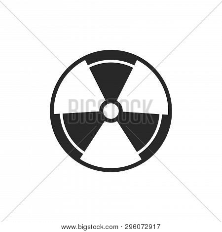 Radiation Icon Isolated On White Background. Radiation Icon In Trendy Design Style. Radiation Vector